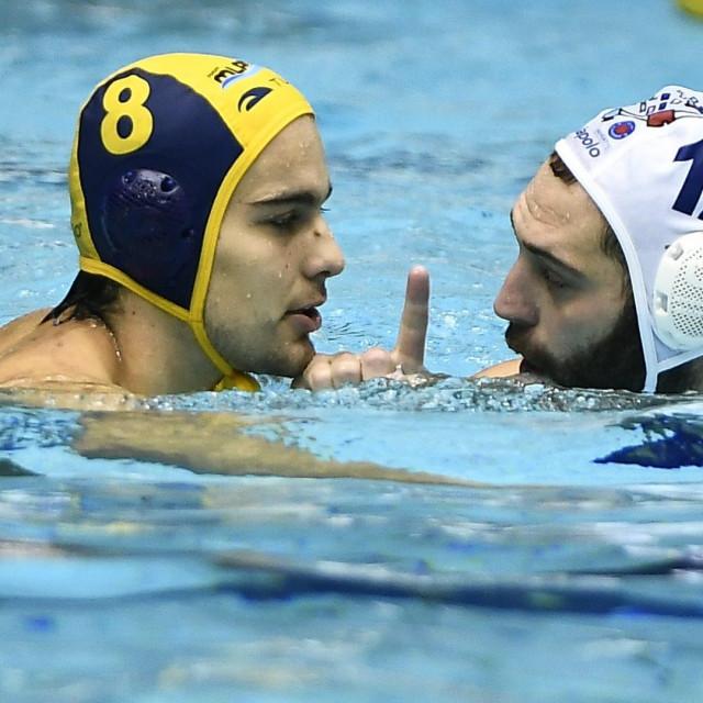 Franko Lazić (Mladost) i Paulo Obradović (Jug AO) foto: Ante Čizmić / CROPIX