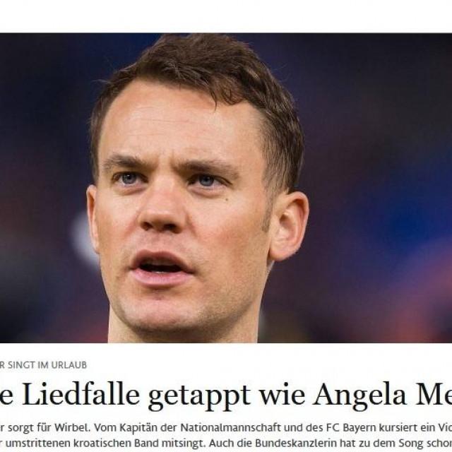 Frankfurter Allgeimeine Zeitung o Manuelu Neueru