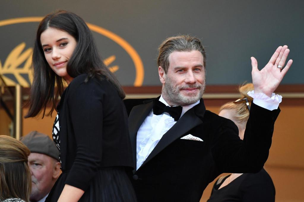 John Travolta i kćer Ella Bleu Travolta na canneskom festivalu 2018. godine