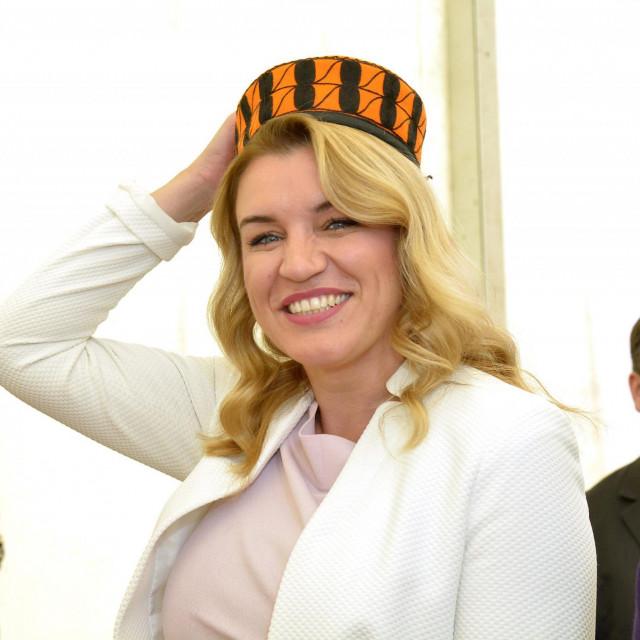 Nikolina Brnjac na otvaranju Sajma agroturizma Šibensko-kninske županije u Skradinu