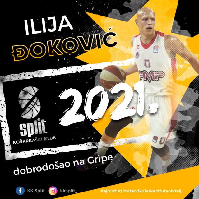 Ilija Đoković novo je pojačanje KK Splita