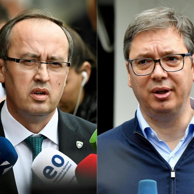 Avdulah Hoti i Aleksandar Vučić