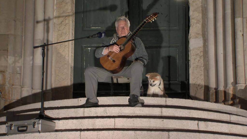 Ibrica Jusić, ponoćni koncert na skalinima Dominikanaca, Dubrovnik