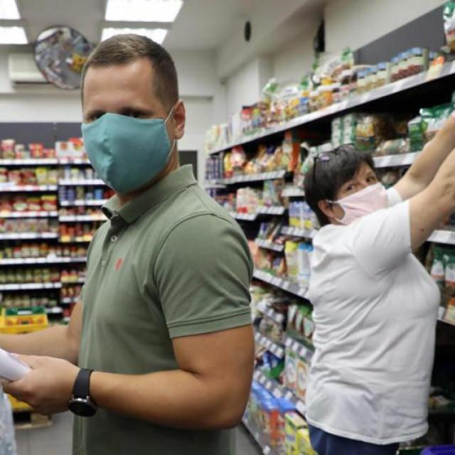 Trgovcima je obvezno nošenje maski stvorilo dodatne probleme