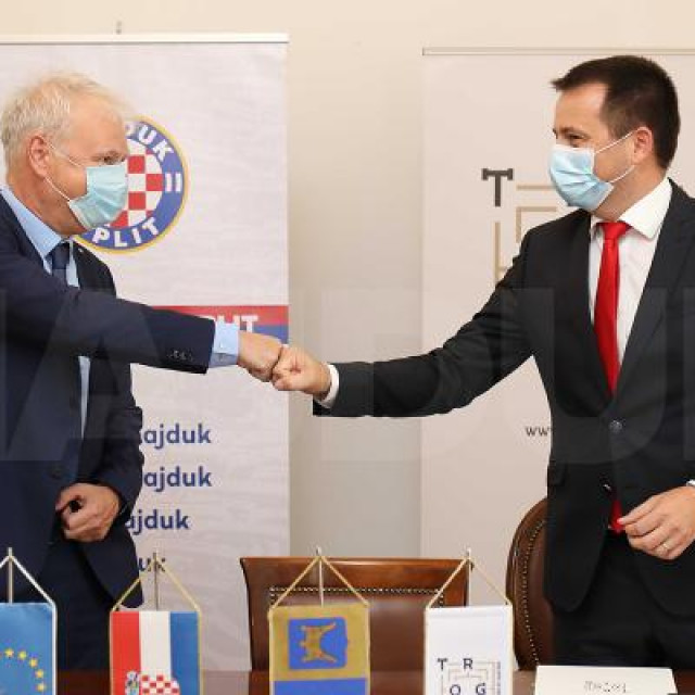 Potpisan je sporazum između Hajduka i Trogira