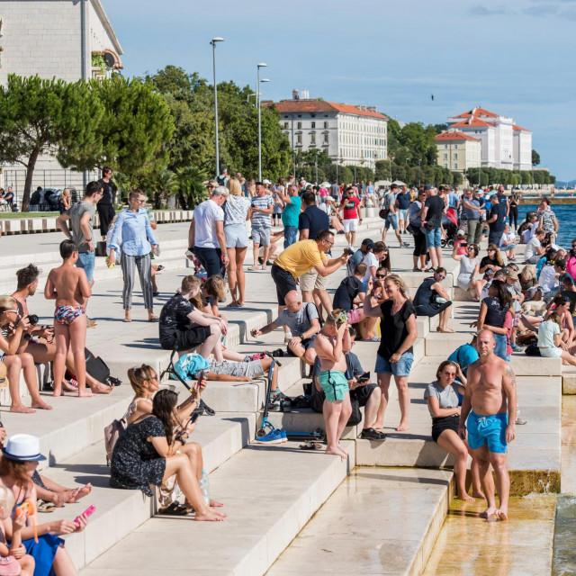 Zadarski Poluotok danas je bio prepun