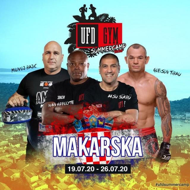 Elitni sudionici MMA kampa podno Biokova