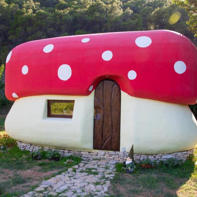 Kućice u obliku gljiva, foto Vojko Bašić/Hanza media