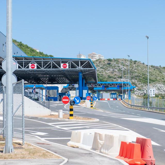 Specijal SD Dubrovnik, 02.07.2020. Medjunarodni granicni prijelaz Gornji Brgat izmedju Republike Hrvatske i Bosne i Hercegovine.