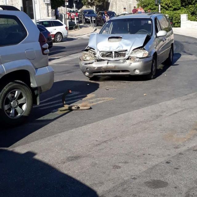 Prometna nesreća na Pilama