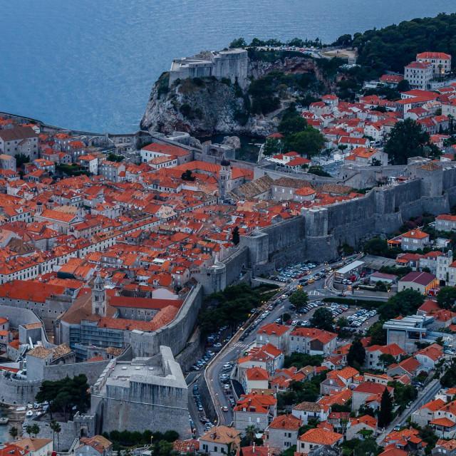 Dubrovnik, 300520.<br /> Proljetni suton nad Dubrovnikom.<br />
