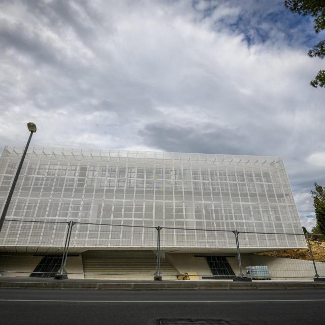 Novoizgradjena zgrada Trokut u kojoj ce biti Centar za poduzetnistvo i nove tehnologije.<br />
