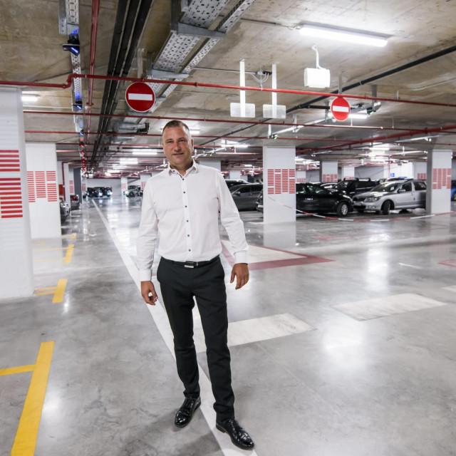 Goran Bulat direktor Gradskog parkinga.<br />