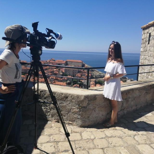 Deutsche Welle snima emisiju o Dubrovniku