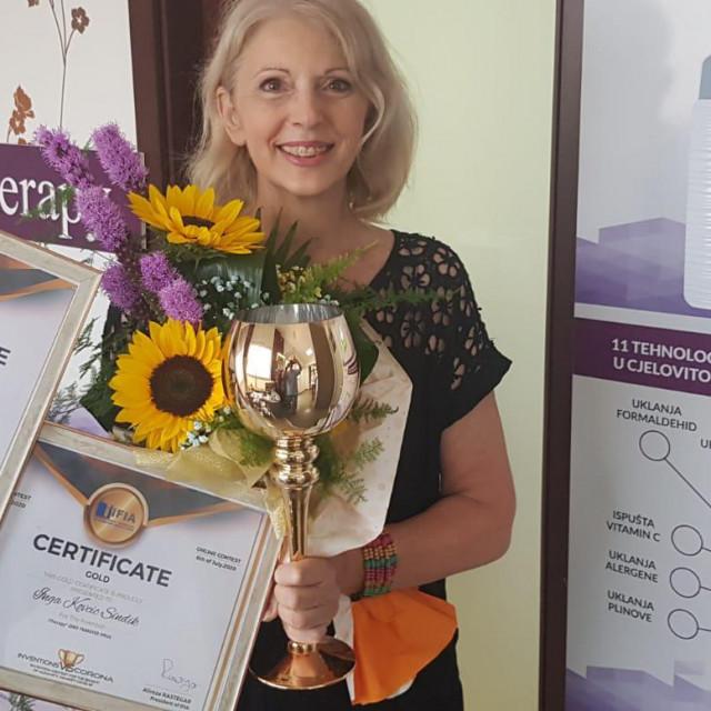 Inovacija 'iTherapy' Inge Kovačić Sindik nagrađena je zlatnom medaljom na međunarodnom natjecanju