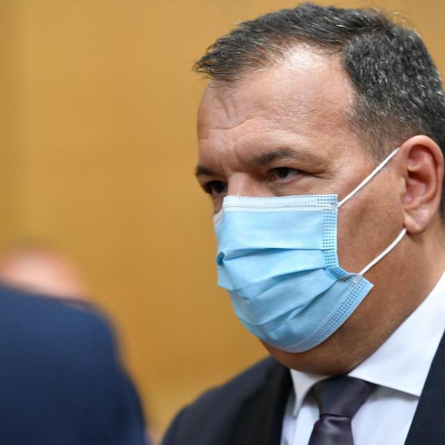 Ministar zdravstva Vili Beroš<br /> <br />