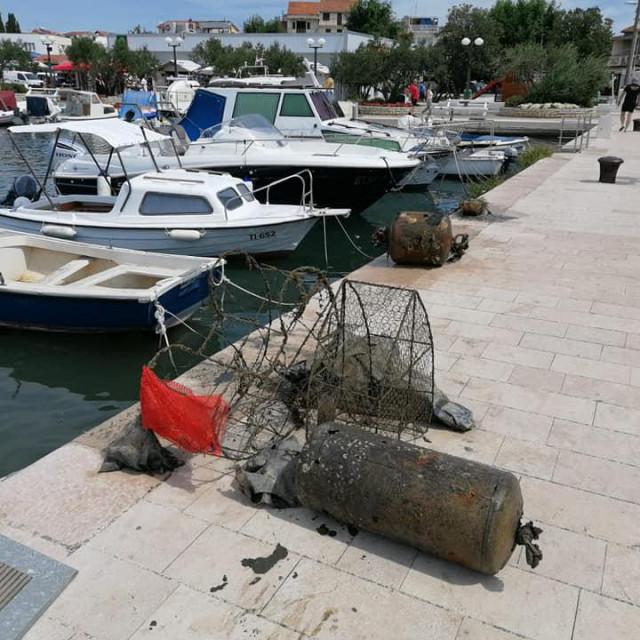 Akcija čišćenja podmorja u organizaciji Powerlifting kluba Šibenik