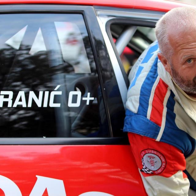 Maro Franić, višestruki državni prvak, vozač Dubrovnik Racinga foto: Tonči Vlašić
