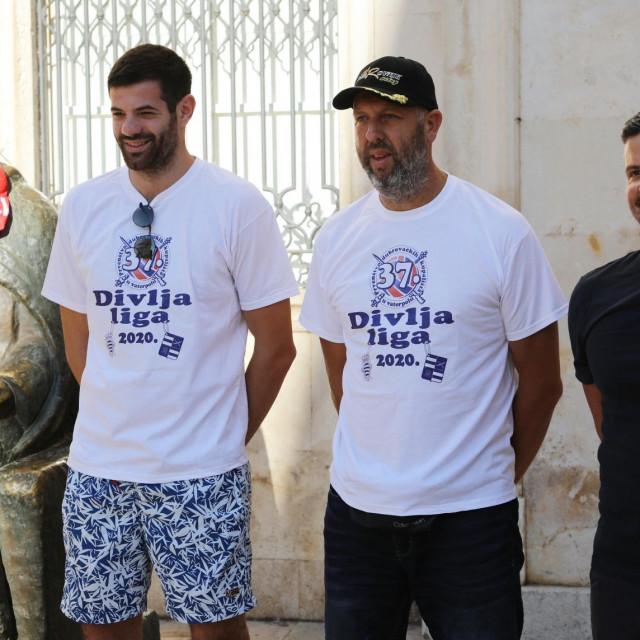 Oni su slagali raspored - Toni Popadić, Maro Franić i Andrej Drobac foto: Božo Radić/HANZA Media