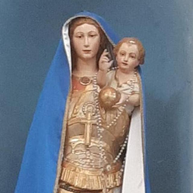 Gospa Lorestka i mali Isus bez kruna