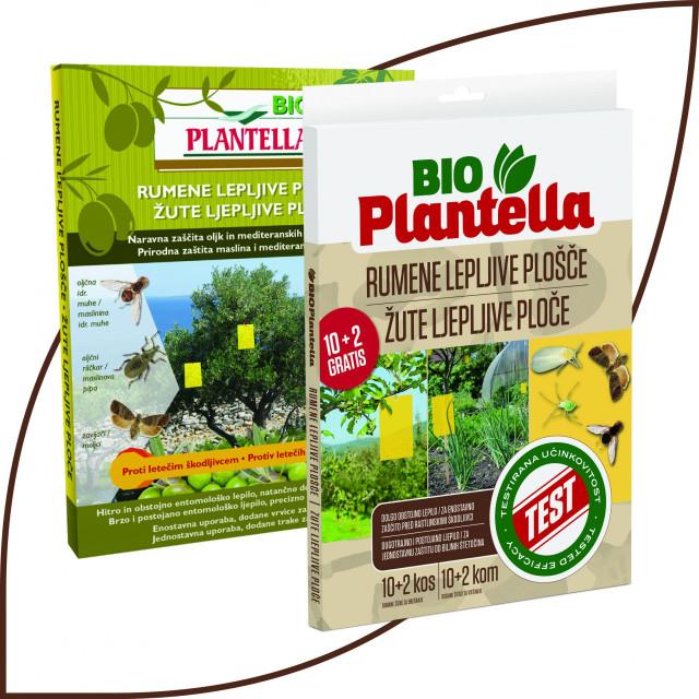 Silvano Puhar i savjetnica za Plantellu Milica Sekulić postavljaju Bio PLantella Žute ploče