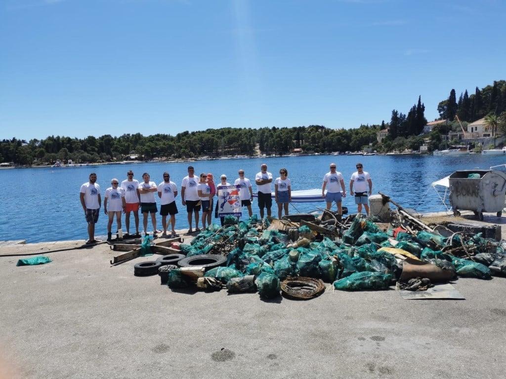Akcija čišćenja podmorja u Korčuli