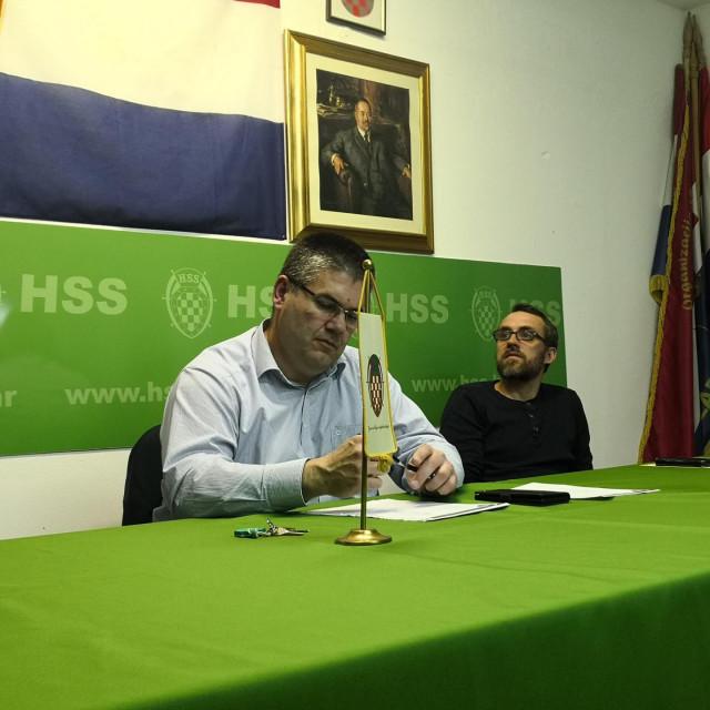 Zoran Morović - predsjednik Županijskog ogranka HSS-a