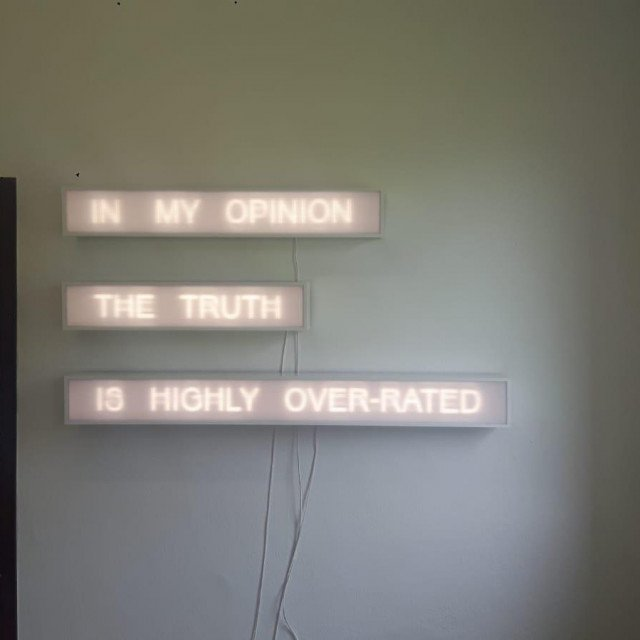 S izložbe 'Istina' Siniše Lordana
