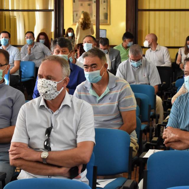 Radni sastanak s načelnicima i gradonačelnicima općina u zadarskoj županiji