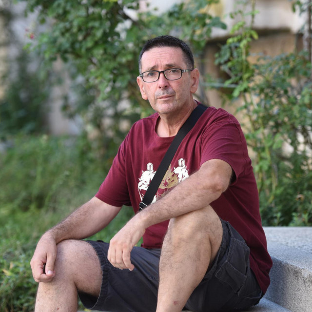 Damir Lazinica, dragovoljac Domovinskog rata, pripadnik 112. zadarske brigade i sudionik 'Oluje'