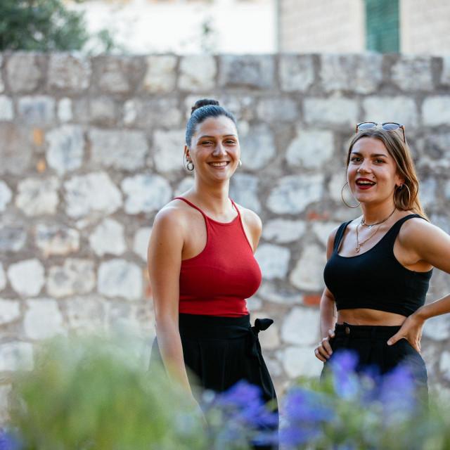 Zrinka Šapro i Katia Kozina, podcast Laganini, Dubrovnik