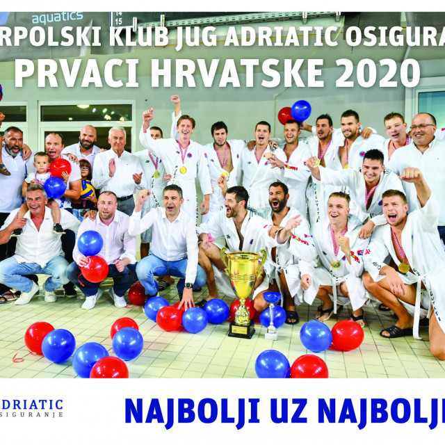 Jug AO, prvaci Hrvatske 2020. godine