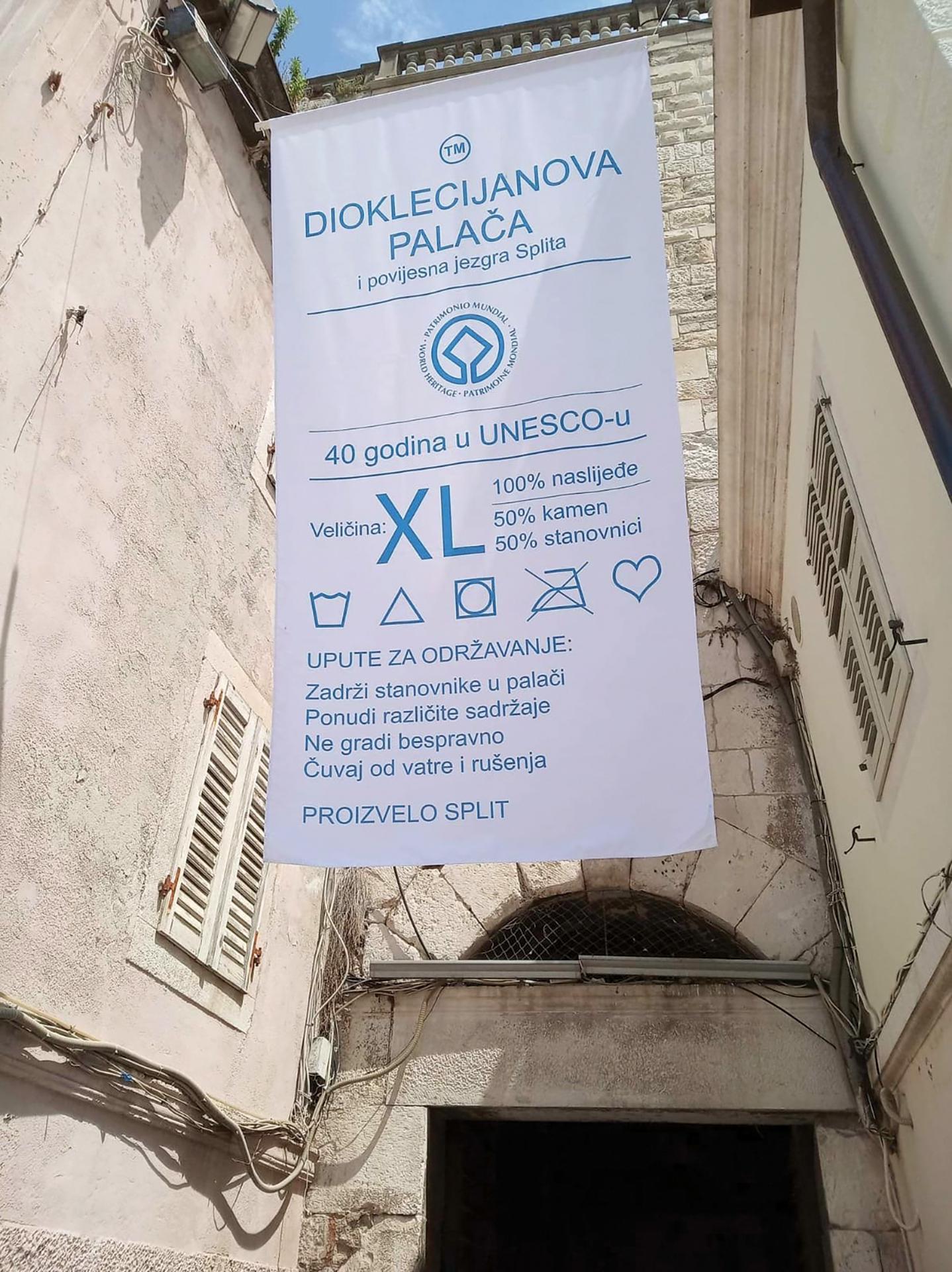 Stjepko Rošin dobio srebrnu nagradu za vizualni identitet 40. obljetnice upisa Dioklecijanove palače i stare gradske jezgre na UNESCO-ovu listu