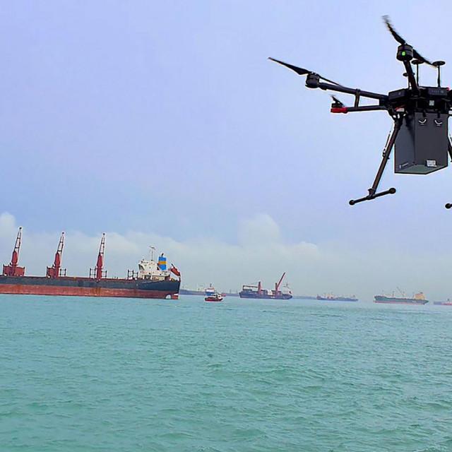 DRON SINGAPUR