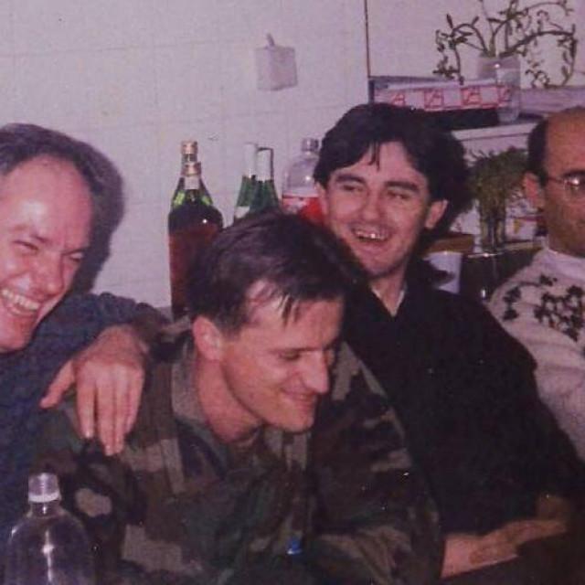 Sanitet: dr. Krešo Baraka, dr. Damir Dukić, dr. Dražen Zekanović, dr. Darko Radman 1994.