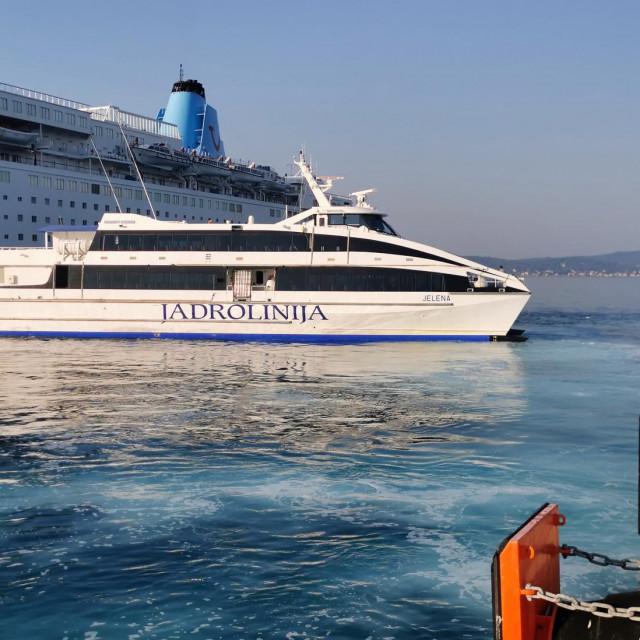 """Katamaran """"Jelena"""" na liniji Zadar - Ancona"""