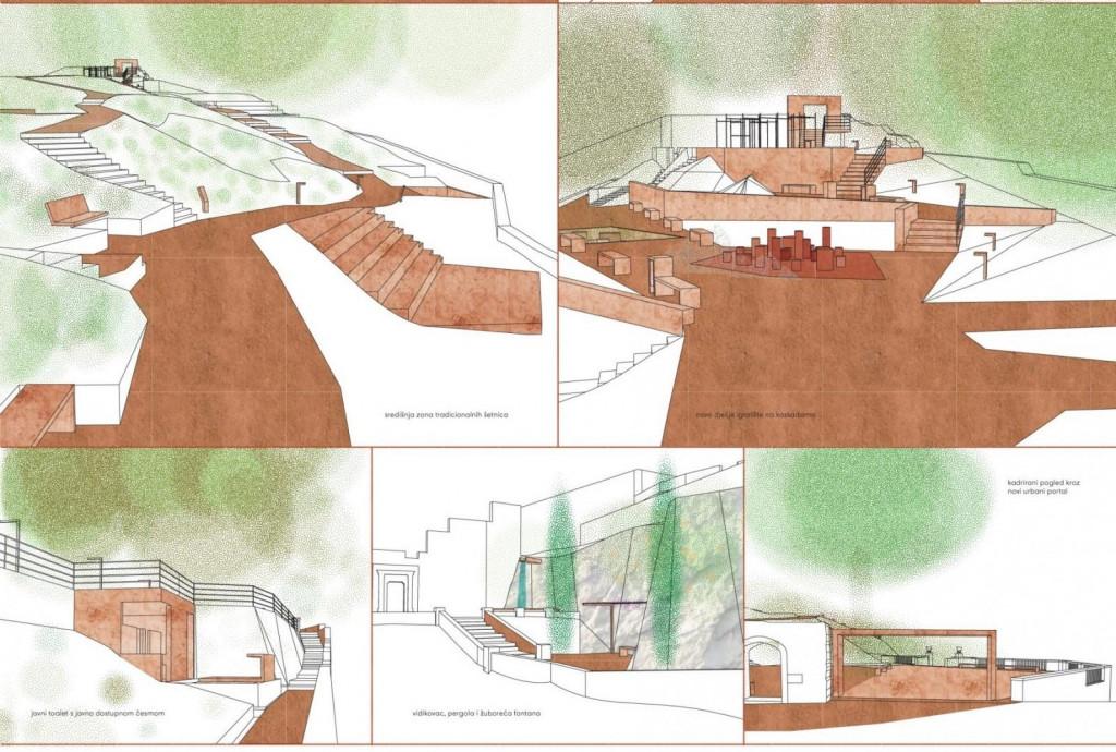 Idejno urbanističko-arhitektonsko-krajobrazno rješenje Parka Gradac