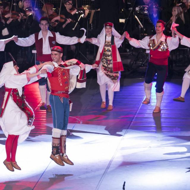 Sa slavljeničkog nastupa KUD-a 'Jedinstvo'<br />