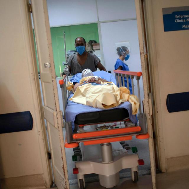 Prizor iz bolnice u Rio de Janeiru