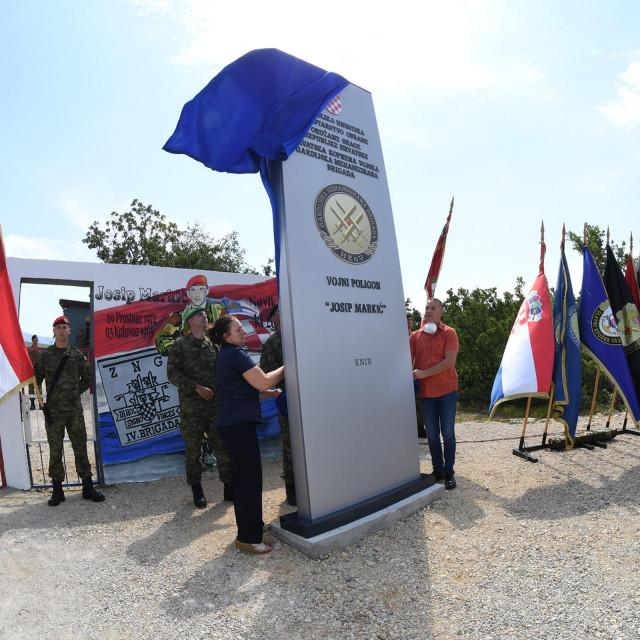 Preimenovanje vojnog poligona Crvena zemlja u Josip Markić