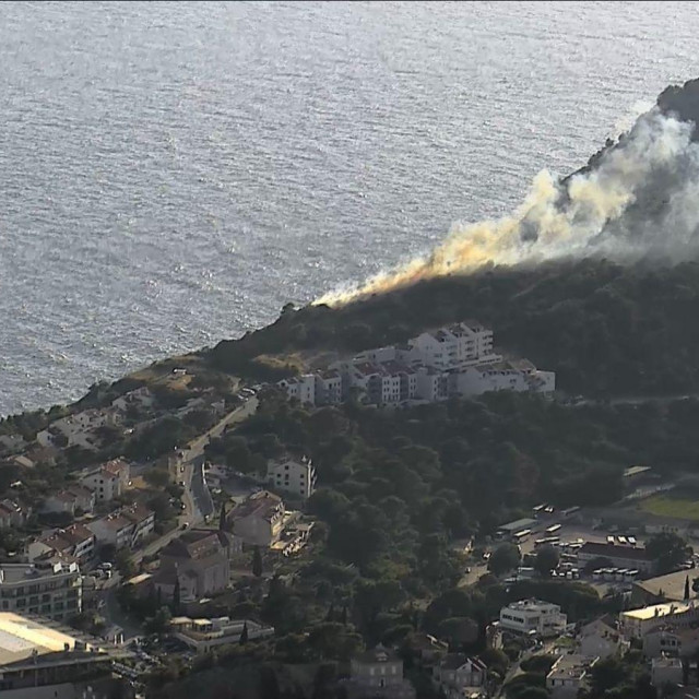 Požar na Gorici sv. Vlaha