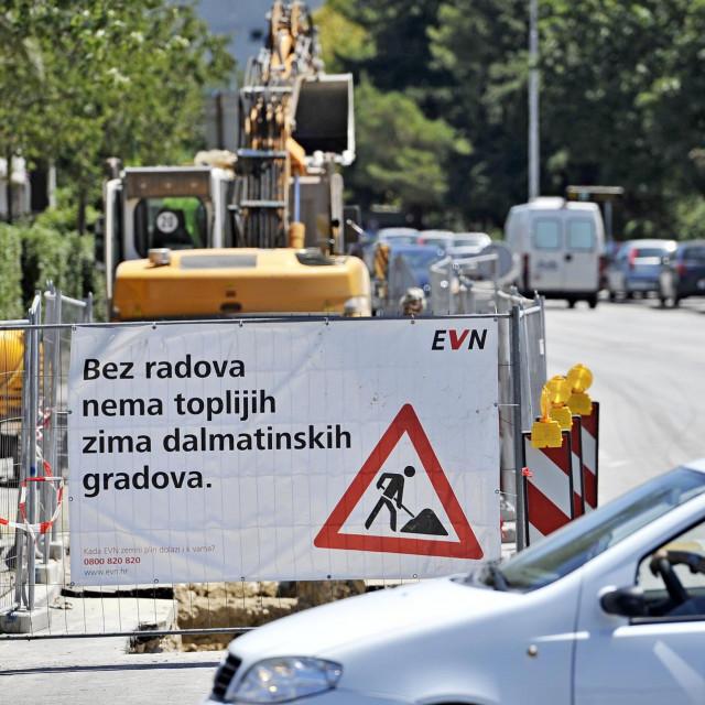 Kopala se Hercegovačkaj ulica zbog postavljanja plinskih instalacija