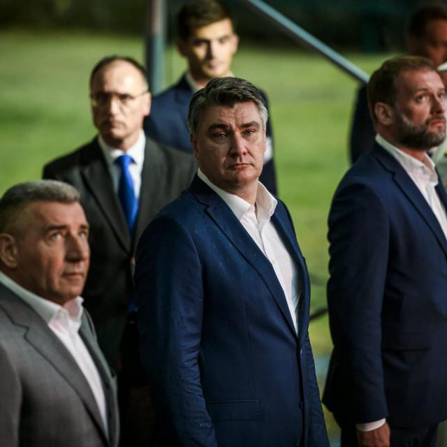 Zoran Milanovic i Ante Gotovina<br />