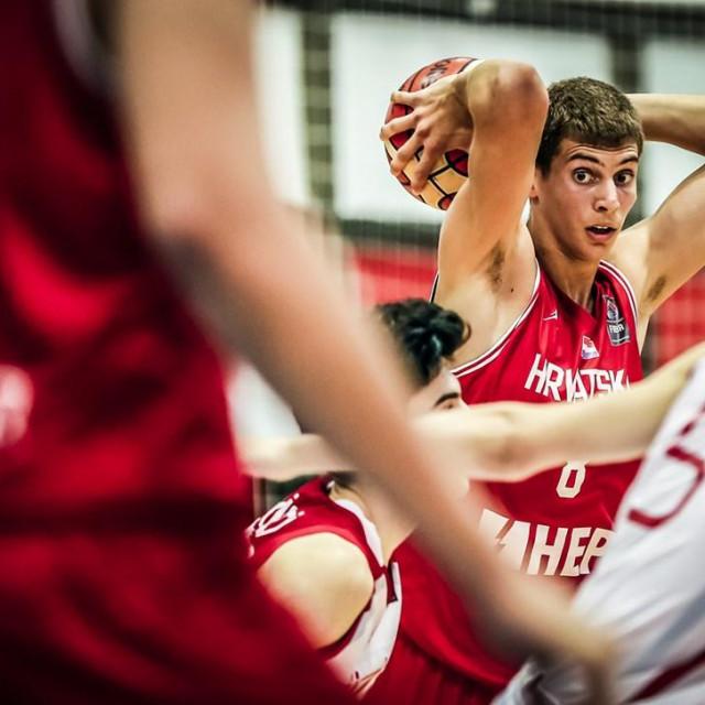 Roko Prkačin Europsko prvenstvo u košarci 2018 Novi Sad