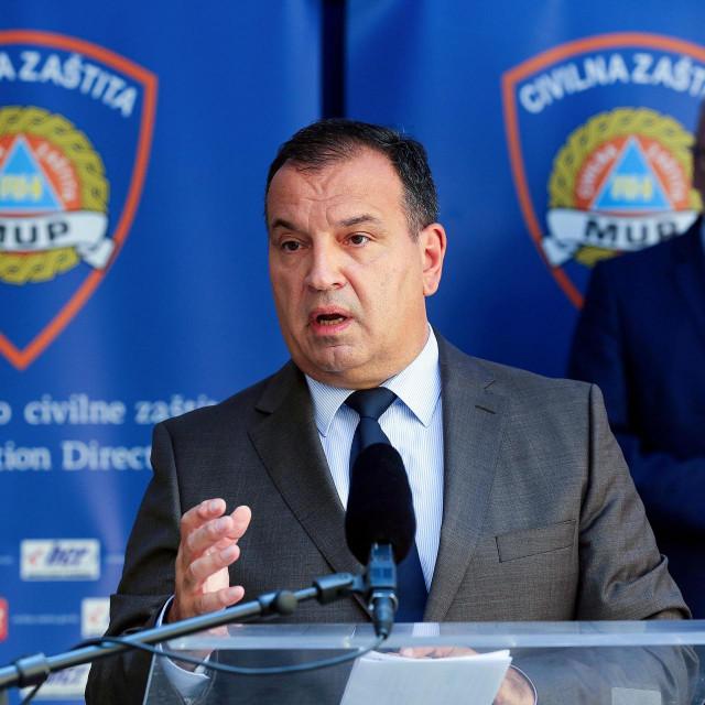 Nacionalni stožer civilne zastite - Vili Beroš, Davor Božinović