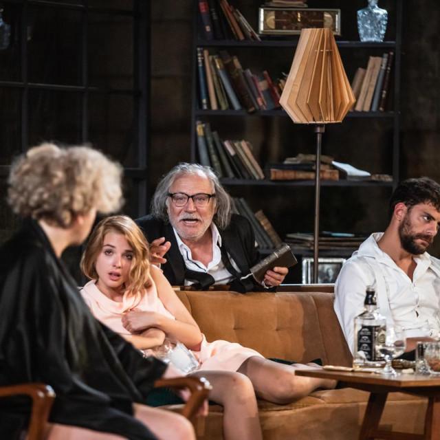 """Predstava Kazališta Ulysses """"Tko se boji Virginije Woolf?"""" u parku Gradac"""
