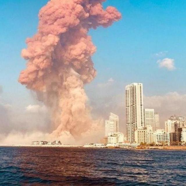 Jake eksplozije u Bejrutu