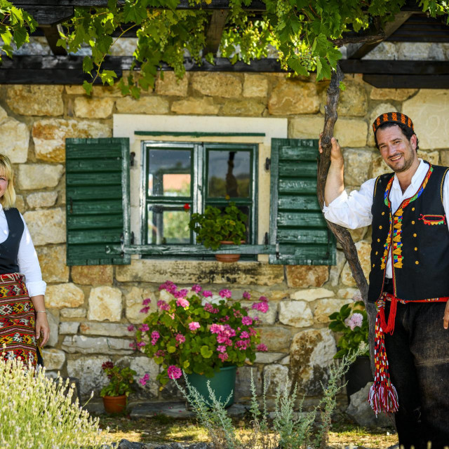 Ana i Josko Lokas vlasnici Etnolanda Dalmati<br />