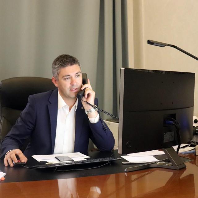 Franković održao telefonski sastanak s veleposlanicom Irske