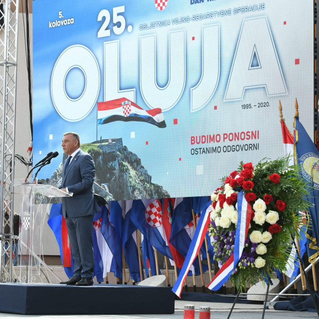 Obilježavanje Dana pobjede i domovinske zahvalnosti, Dana hrvatskih branitelja i 25. obljetnice vojno-redarstvene operacije Oluja